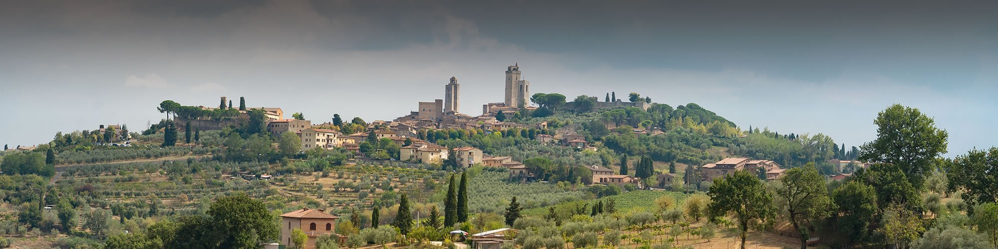 San Gimignano and hinterland