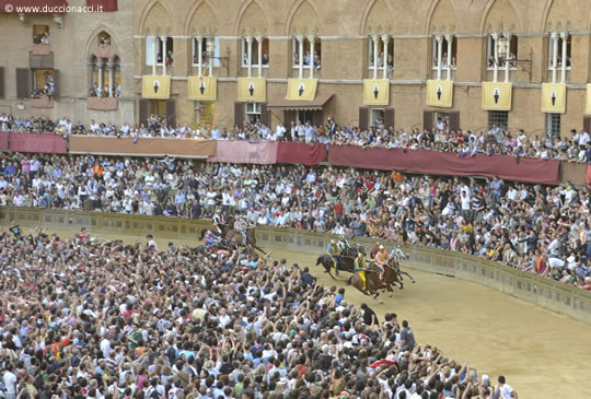 Siena and the Palio, between folklore and history