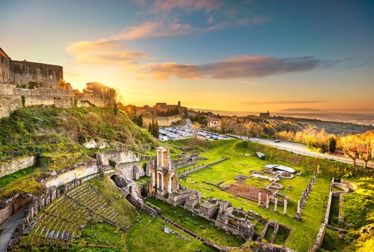 Volterra e il suo patrimonio storico millenario